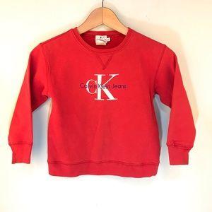 Calvin Klein | Toddler Vintage Logo Sweatshirt L